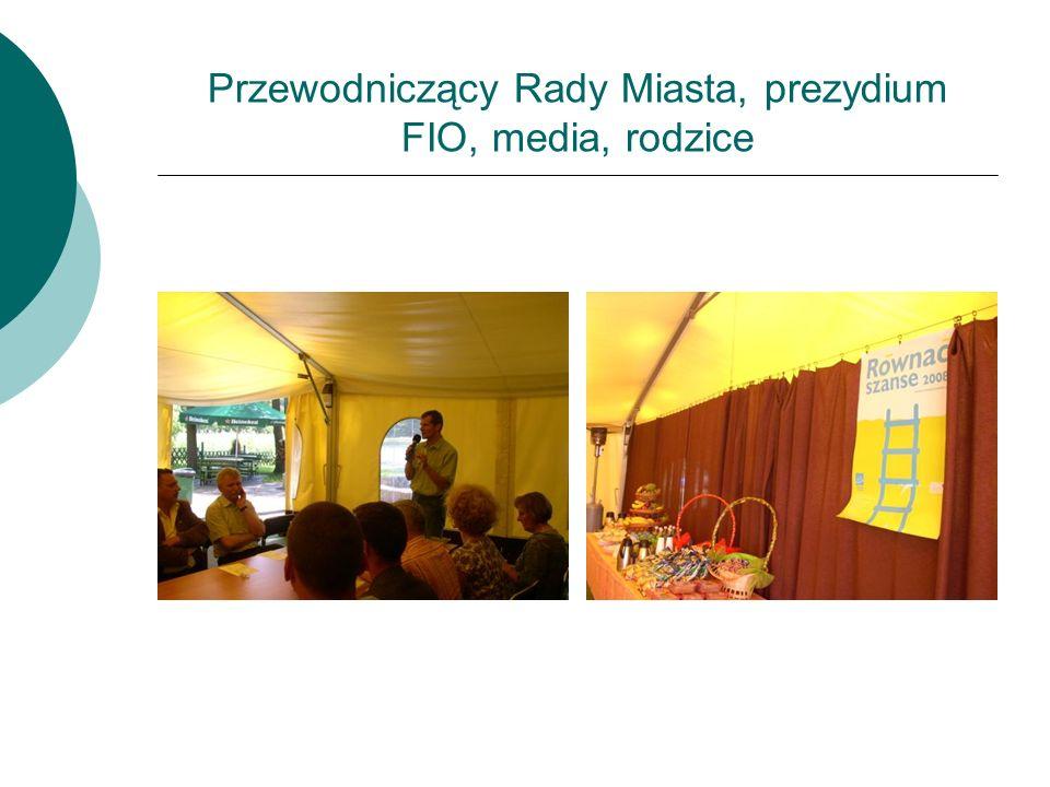 Przewodniczący Rady Miasta, prezydium FIO, media, rodzice