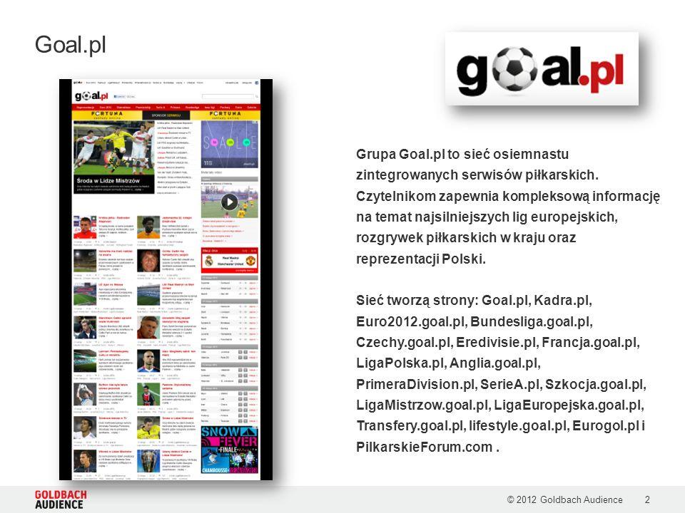Grupa Goal.pl to sieć osiemnastu zintegrowanych serwisów piłkarskich. Czytelnikom zapewnia kompleksową informację na temat najsilniejszych lig europej