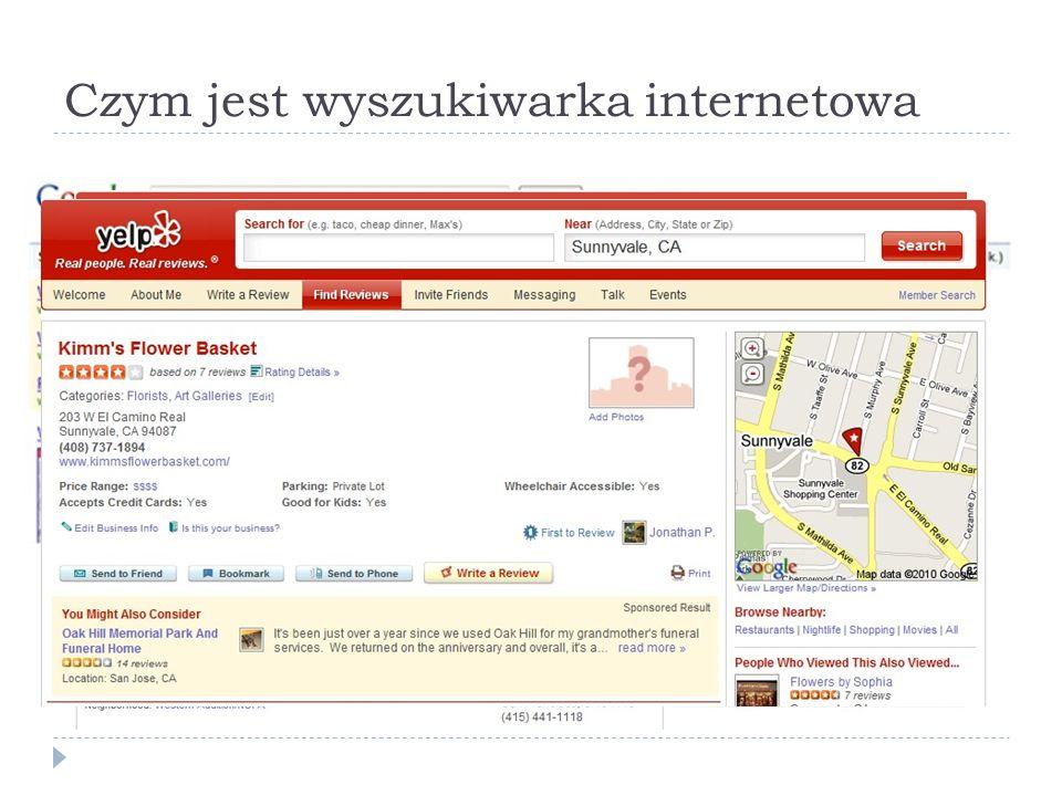 Czym jest wyszukiwarka internetowa