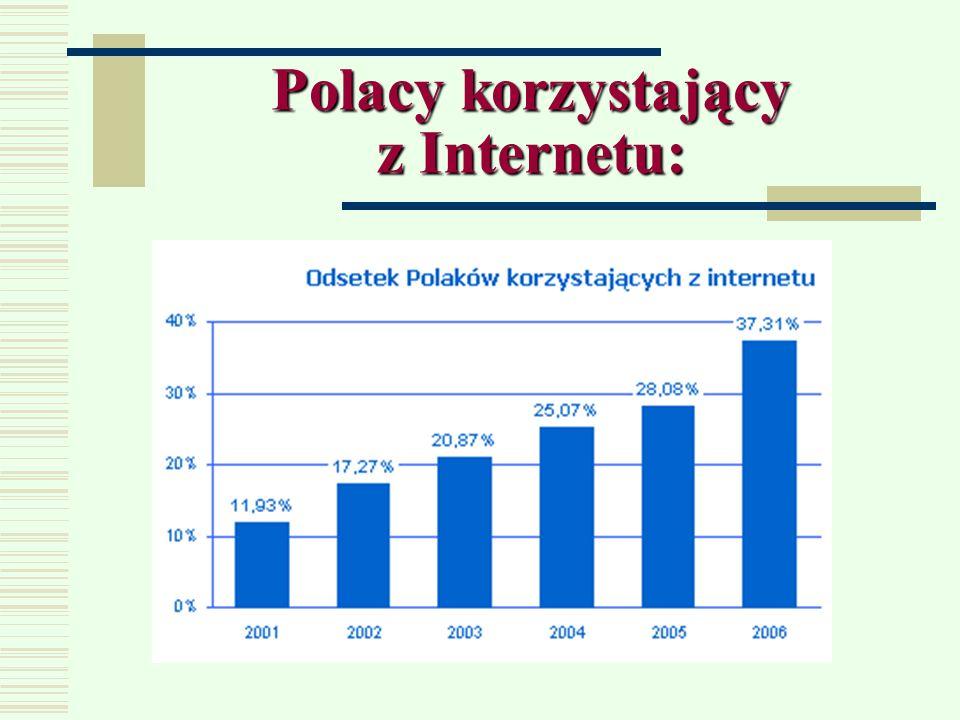 Handel elektroniczny w Polsce: Ponad 11 milionów Polaków korzysta z Internetu, wśród nich jednak tylko jedna czwarta robi zakupy w sieci. W porównaniu