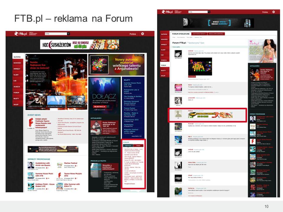 FTB.pl – reklama na Forum 10