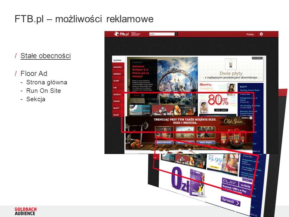 6 /Stałe obecności /Floor Ad -Strona główna -Run On Site -Sekcja FTB.pl – możliwości reklamowe