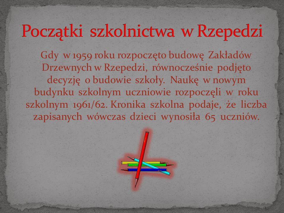 Otwarcia szkoły dokonał wicepremier Piotr Jaroszewicz.