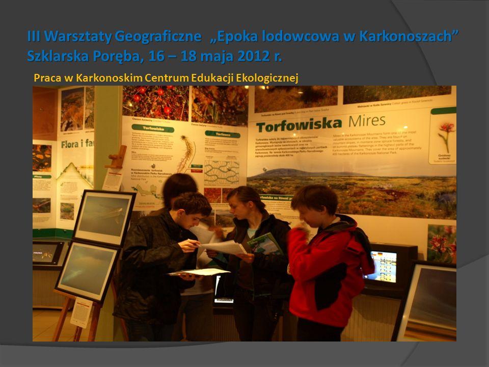 Praca w Karkonoskim Centrum Edukacji Ekologicznej