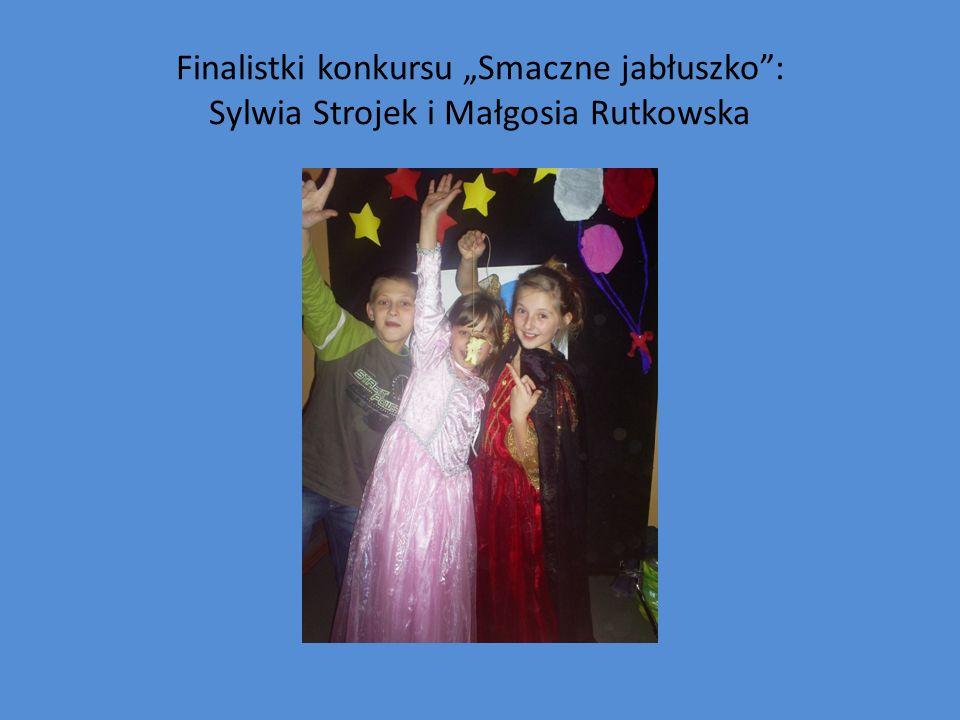 Finalistki konkursu Smaczne jabłuszko: Sylwia Strojek i Małgosia Rutkowska