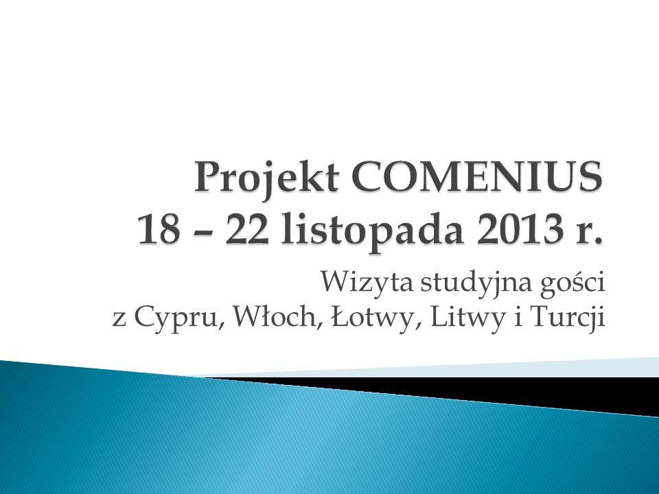 Wizyta studyjna gości z Cypru, Włoch, Łotwy, Litwy i Turcji