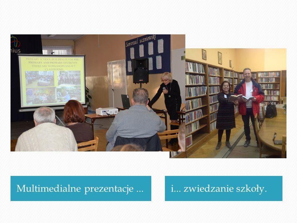 Multimedialne prezentacje...i... zwiedzanie szkoły.
