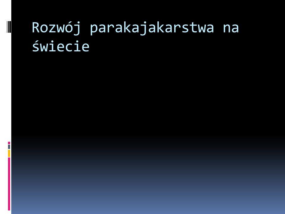 Kluby uczestniczące w MP w Parakajakarstwie Kluby zrzeszone w PZKaj Kluby zajmujące się parakajakarstwem Kluby Integracyjne 88 7 2 OTK Opole Sokół Ostróda START Poznań START Wrocław START Zielona Góra IKS Warszawa TKS Kogeneracja