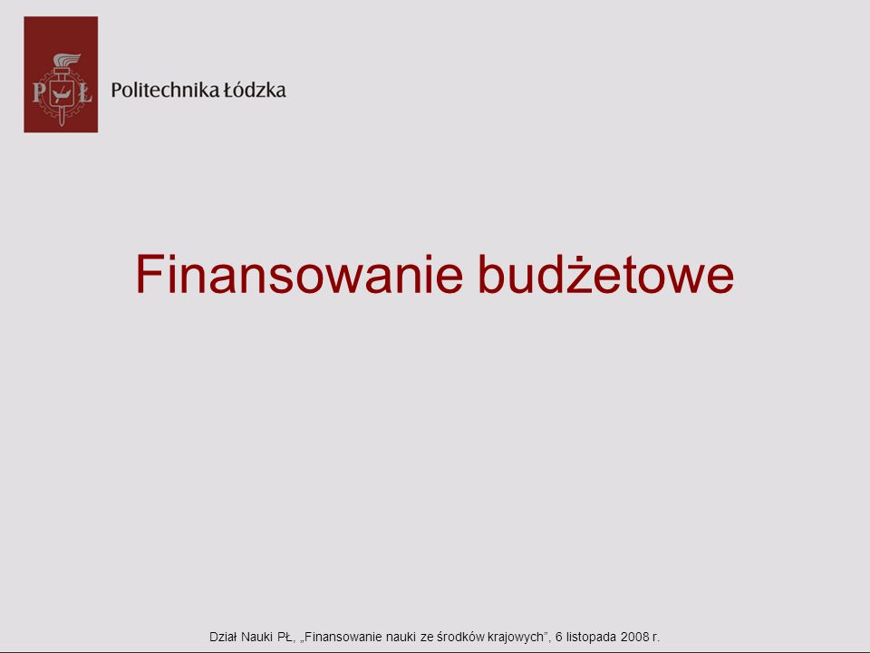 Finansowanie budżetowe – kluczowe nowelizacje Ust.