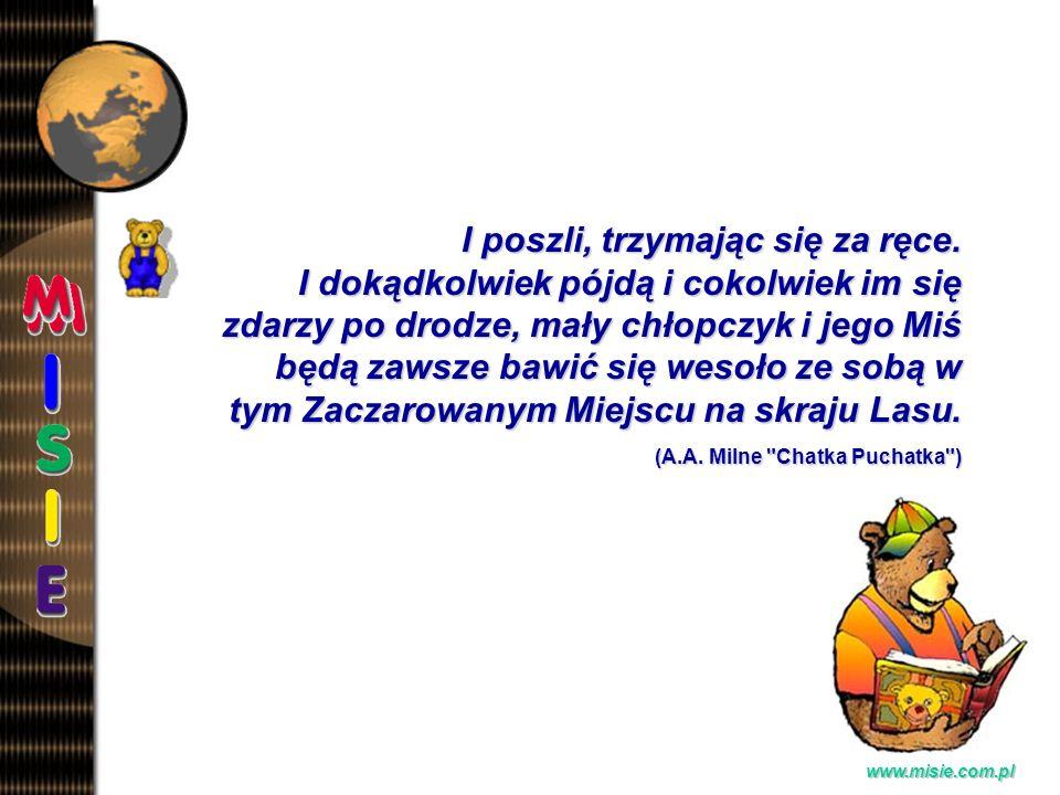 Prezentacja EwaB.www.misie.com.pl I poszli, trzymając się za ręce.