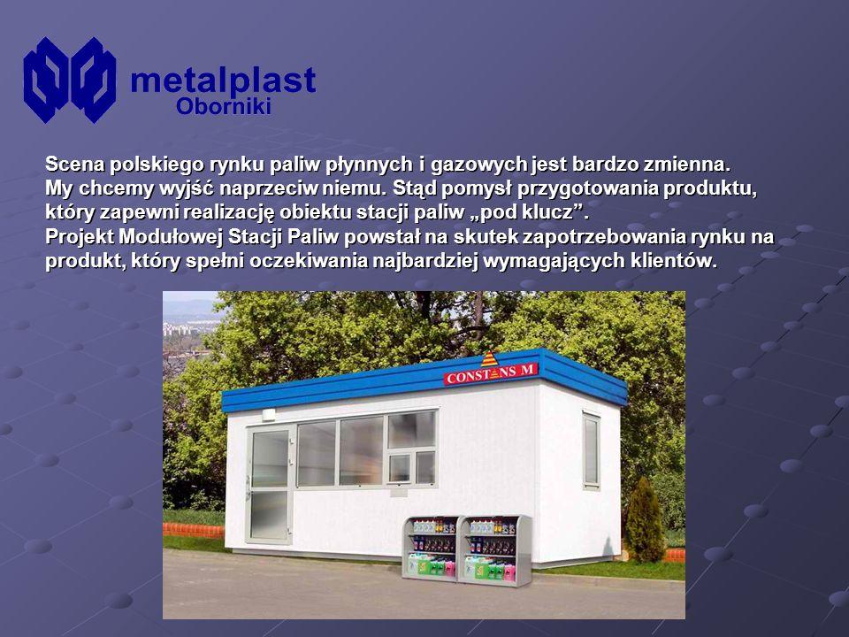 Nasz produkt to w pełni wyposażony obiekt handlowy stacji paliw, będący tańszą ofertą odbudowy tradycyjnej stacji.