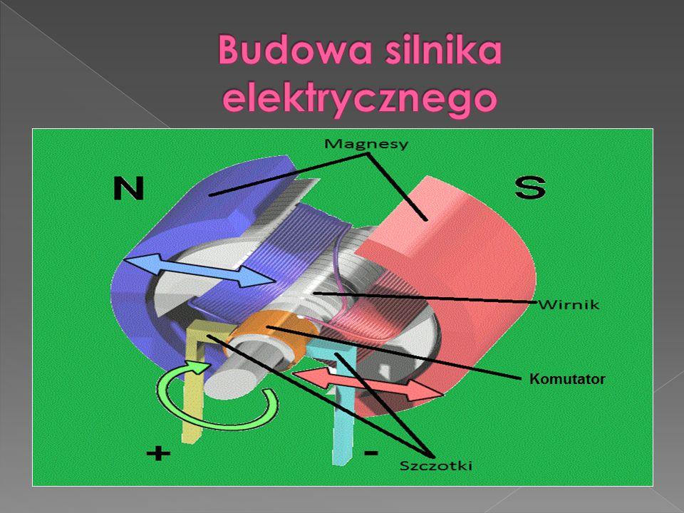 Ze względu na rodzaj napięcia zasilającego, silniki elektryczne dzielimy na: 1.