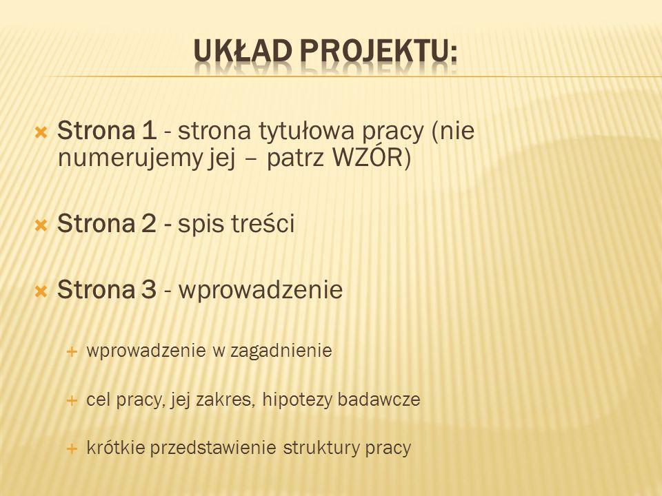 Przypis prosty http://www.ie.lodz.pl Przypis do dokumentu z nazwą, z witryny, np.: Kozak M.W., Regiony w Polsce, [z:] http://www.ie.1odz.p1/dokumenty/dokument001.