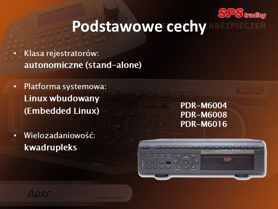 Menu ustawień Polskie menu Graficzny interfejs Intuicyjna obsługa Łatwa konfiguracja