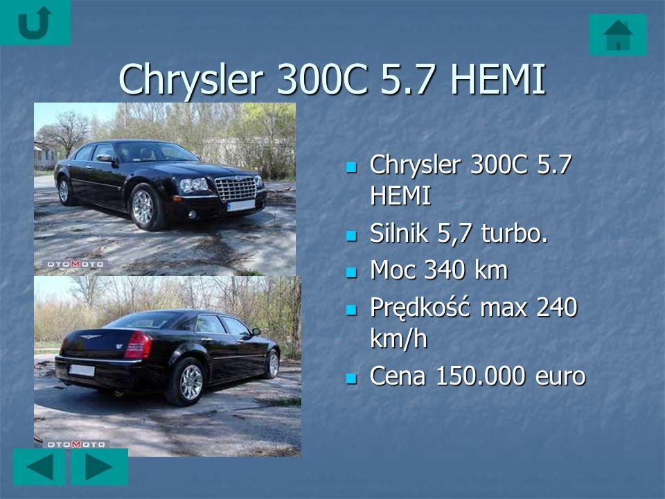 Chrysler 300C 5.7 HEMI Chrysler 300C 5.7 HEMI Chrysler 300C 5.7 HEMI Silnik 5,7 turbo.