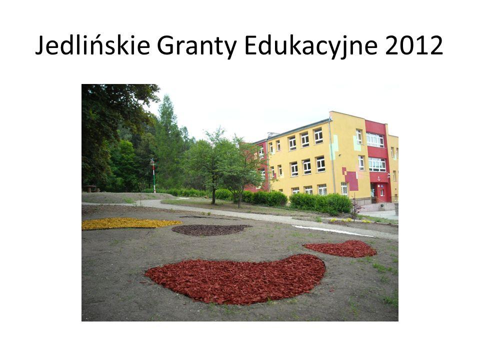 Jedlińskie Granty Edukacyjne 2012