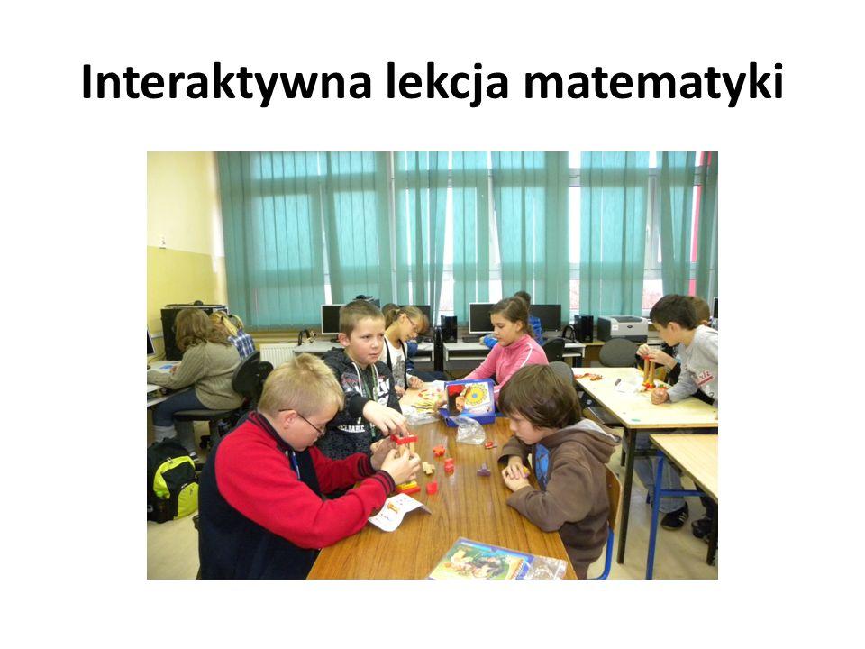 Interaktywna lekcja matematyki
