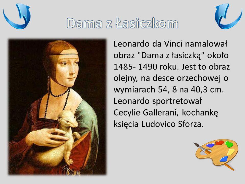 Leonardo da Vinci namalował obraz