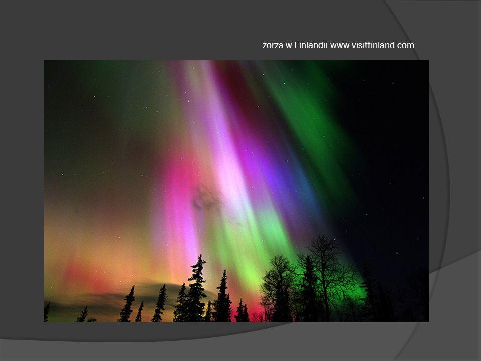 zorza w Finlandii www.visitfinland.com