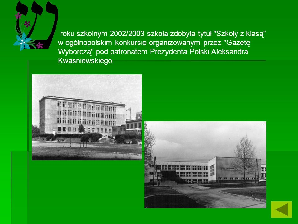 roku szkolnym 1978/1979 biblioteka szkolna zajmuje I miejsce w województwie lubelskim w konkursie