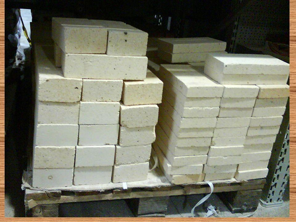 Przepis na cegłę = wapno + cement + glina + piasek