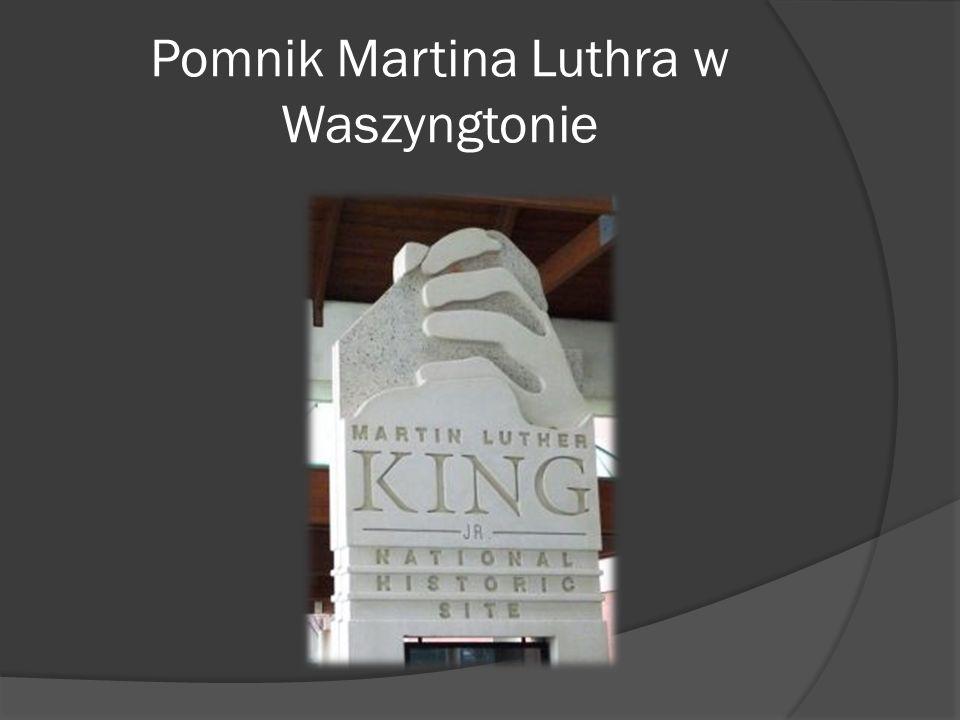 Pomnik Martina Luthra w Waszyngtonie