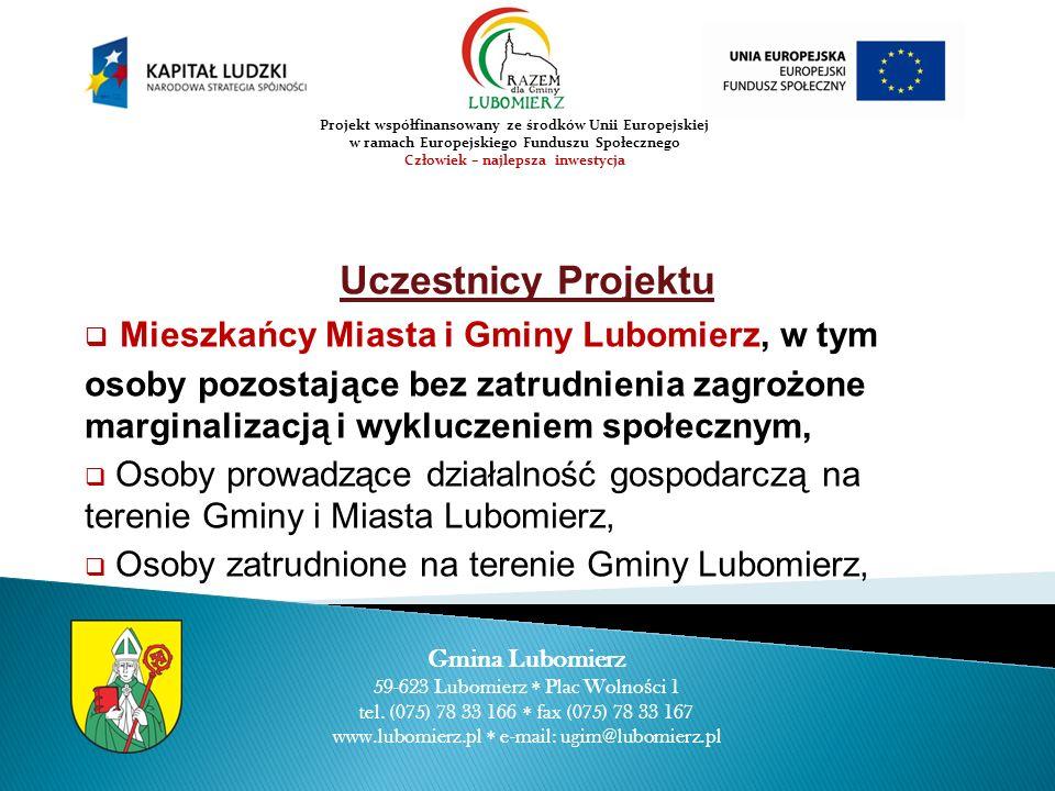 WARSZTAT D – 5 października 2010r.Gmina Lubomierz 59-623 Lubomierz Plac Wolno ś ci 1 tel.