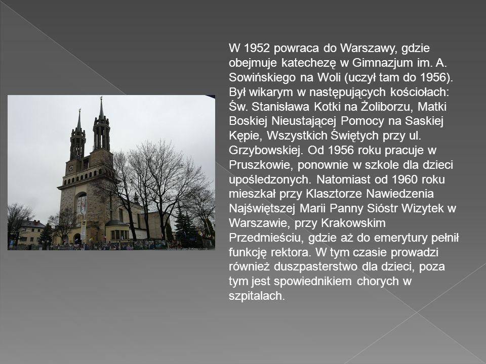 W 1922 roku mały Jan rozpoczął naukę w szkole podstawowej, a od 1927 uczęszcza do Gimnazjum im. Tadeusza Czackiego w Warszawie do klasy matematyczno-