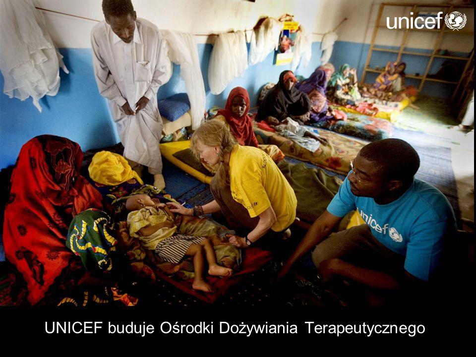UNICEF buduje Ośrodki Dożywiania Terapeutycznego