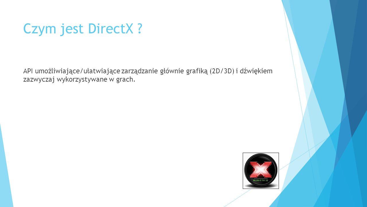Czym jest DirectX .