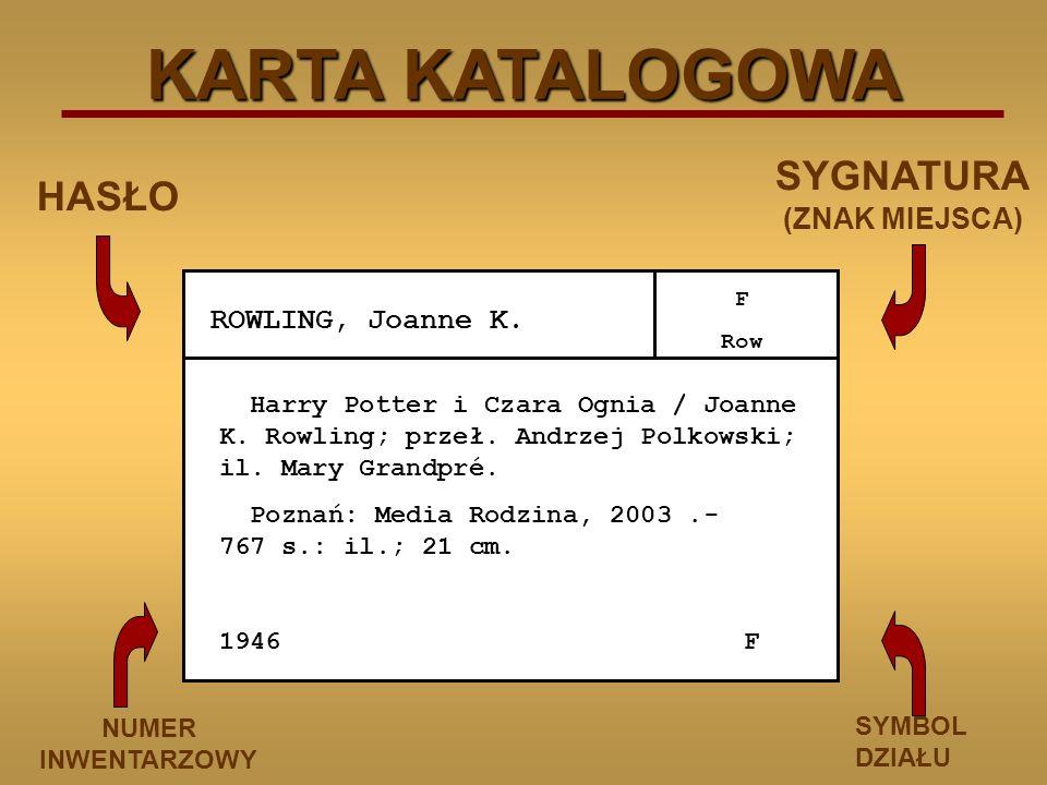 ROWLING, Joanne K.F Row Harry Potter i Czara Ognia / Joanne K.