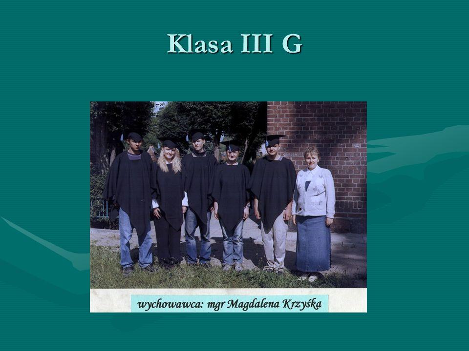 Klasa III G