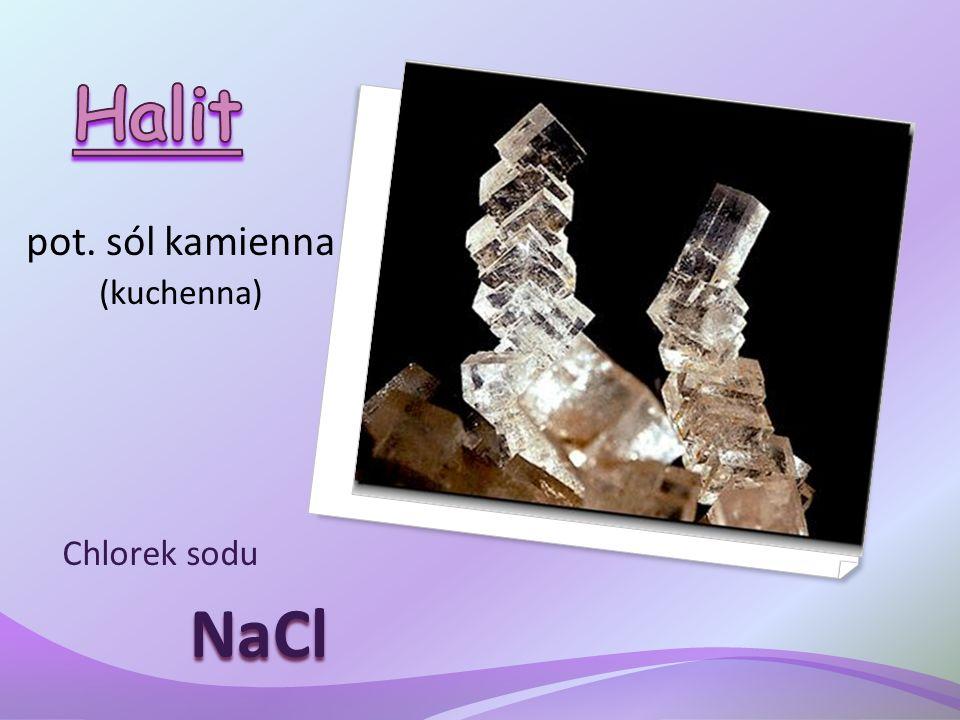 pot. sól kamienna (kuchenna) Chlorek sodu