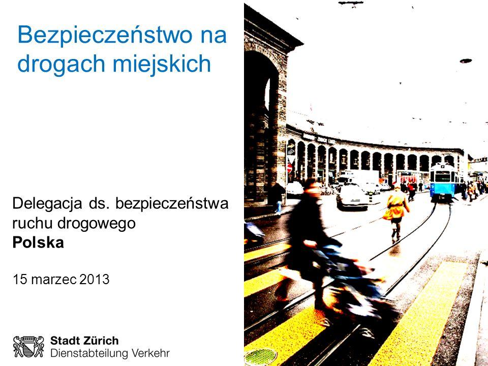 February 2013 Page 1 Rahmenprogramm Verkehrssicherheit Bezpieczeństwo na drogach miejskich Delegacja ds. bezpieczeństwa ruchu drogowego Polska 15 marz