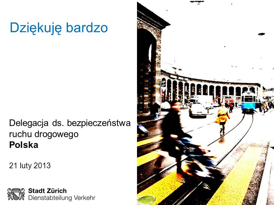 February 2013 Page 18 Rahmenprogramm Verkehrssicherheit Dziękuję bardzo Delegacja ds. bezpieczeństwa ruchu drogowego Polska 21 luty 2013