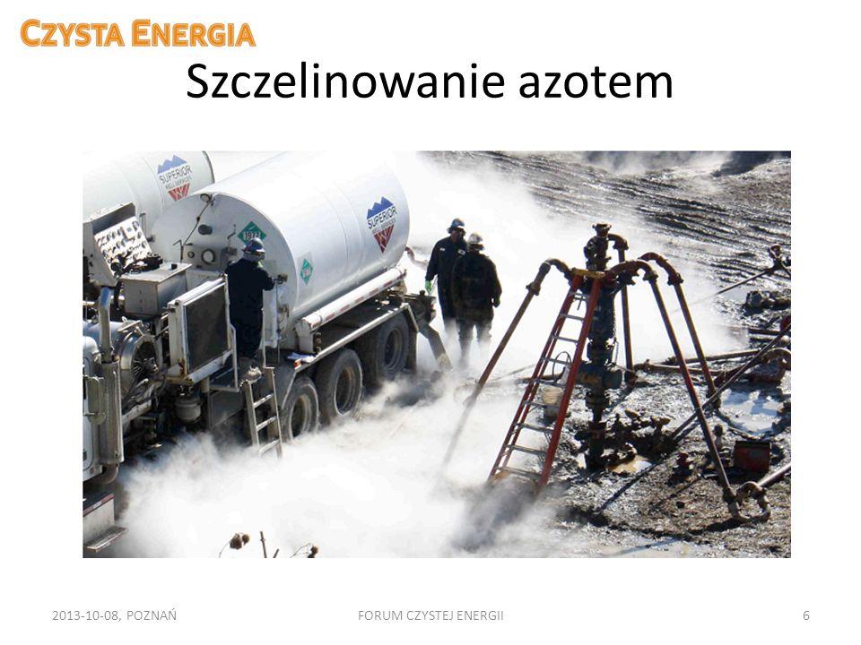 Szczelinowanie azotem 2013-10-08, POZNAŃFORUM CZYSTEJ ENERGII6