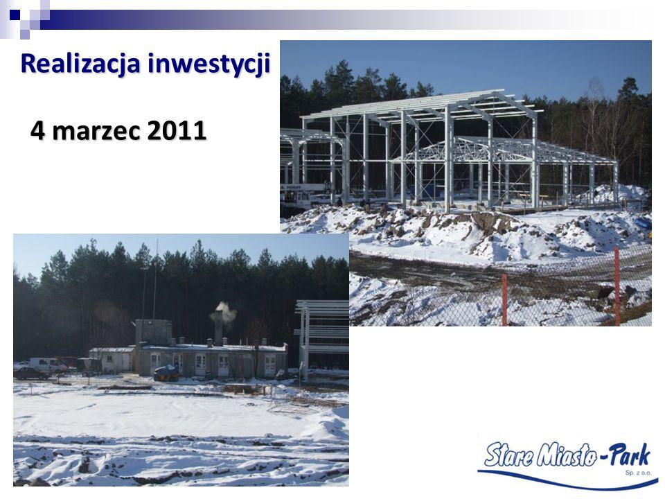 4 marzec 2011 Realizacja inwestycji