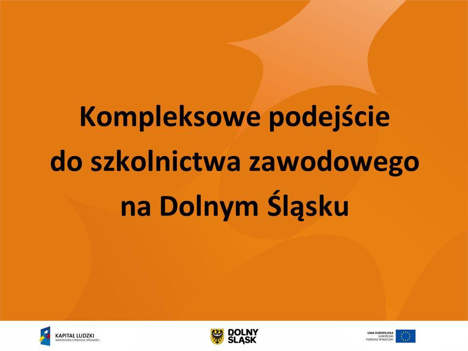 Kompleksowe podejście do szkolnictwa zawodowego na Dolnym Śląsku