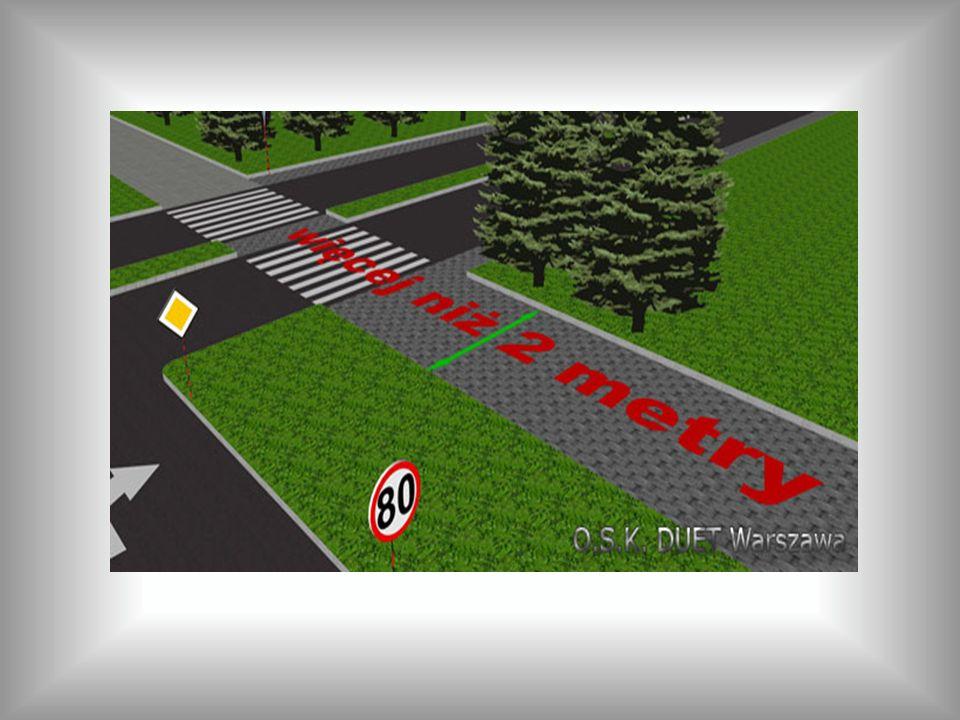ZNAKI NAKAZU Nakaz jazdy w prawo (skręcanie przed znakiem).
