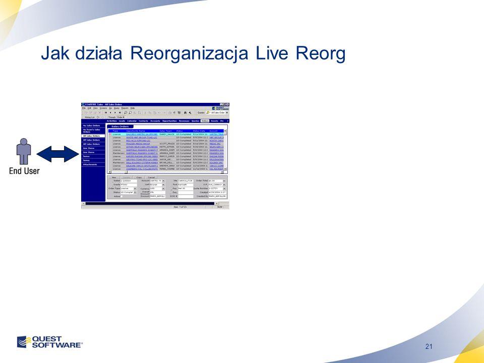 21 Jak działa Reorganizacja Live Reorg