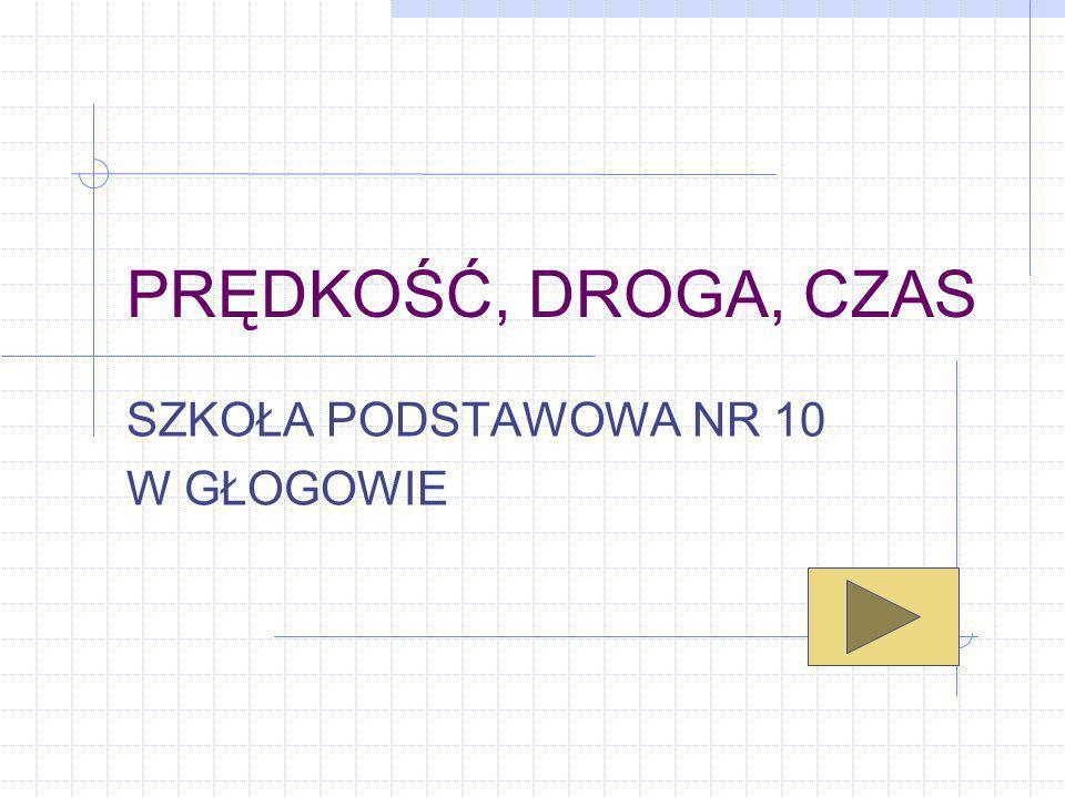 Przykład 5 Kierowca wyruszył z Gdańska o godzinie 6:15 i dotarł do Warszawy o 10:30.
