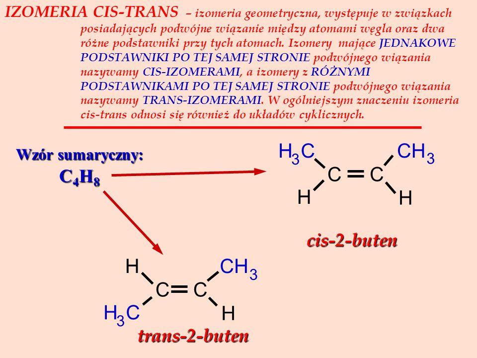 TAUTOMERIA – zjawisko występowania związków organicznych o tym samym wzorze sumarycznym w dwóch odmianach izomerycznych, nazywanych tautomerami i pozo