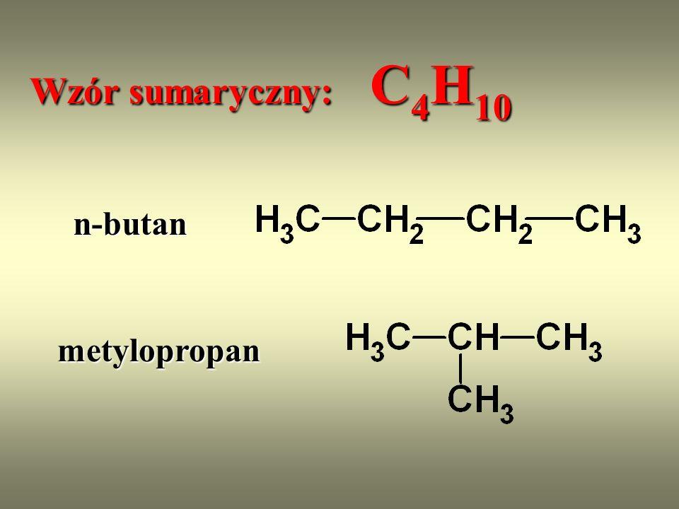 C ząsteczki związków organicznych są identyczne wtedy i tylko wtedy, gdy są zbudowane z takich samych atomów, występujących w takich samych ilościach i ułożonych w identyczny sposób.
