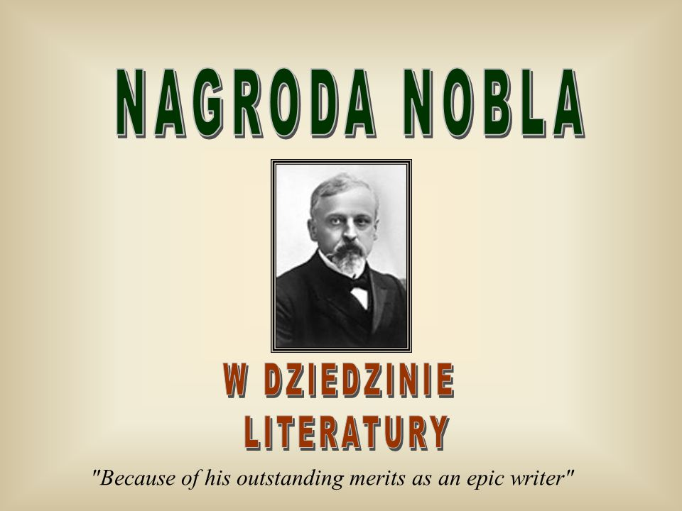 Because of his outstanding merits as an epic writer