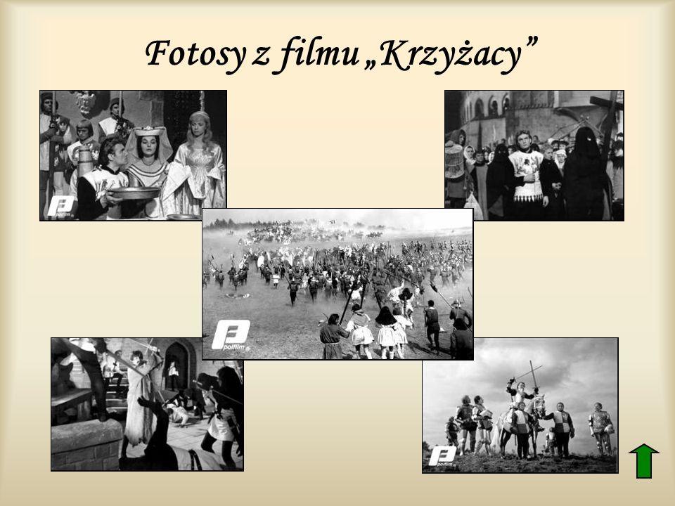 Fotosy z filmu Krzyżacy