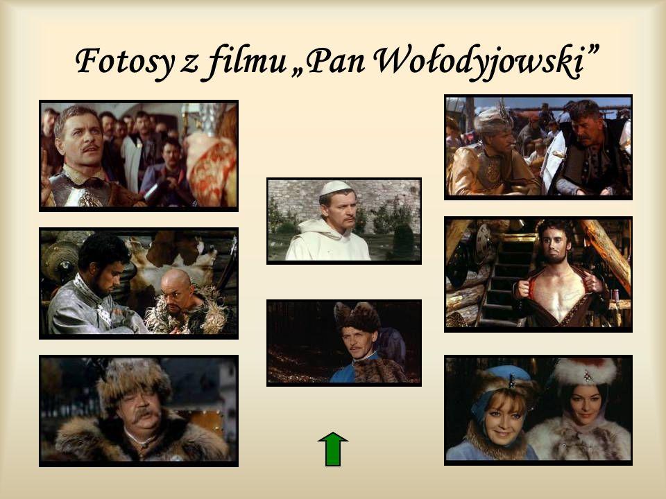 Fotosy z filmu Pan Wołodyjowski