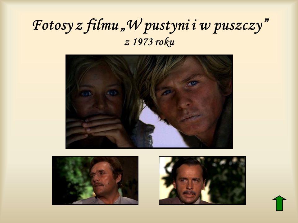 Fotosy z filmu W pustyni i w puszczy z 1973 roku