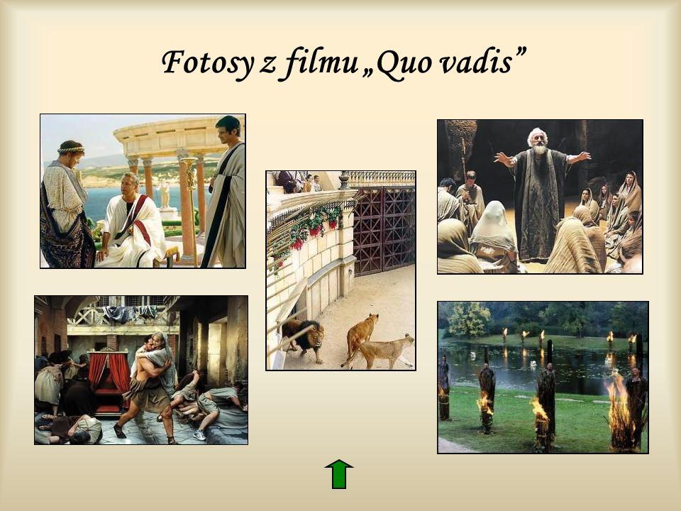 Fotosy z filmu Quo vadis