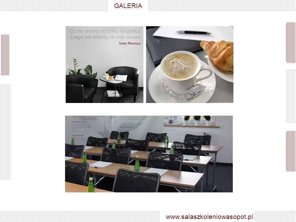 GALERIA www.salaszkoleniowasopot.pl GALERIA