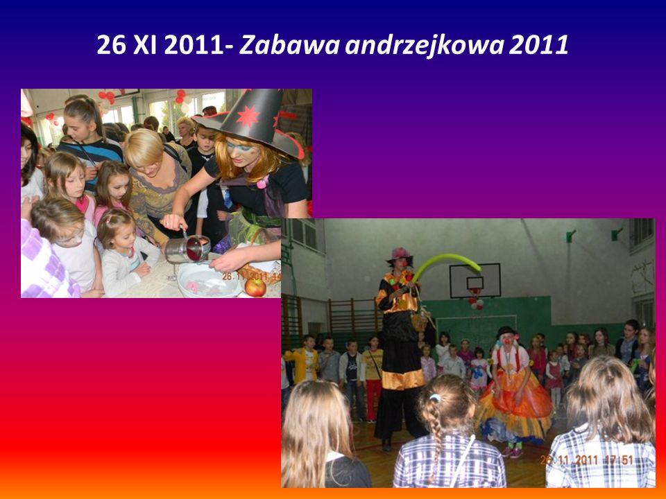 26 XI 2011- Zabawa andrzejkowa 2011
